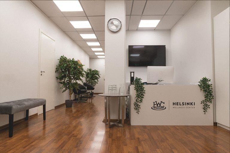 Helsinki Wellness Centerin uusi aula