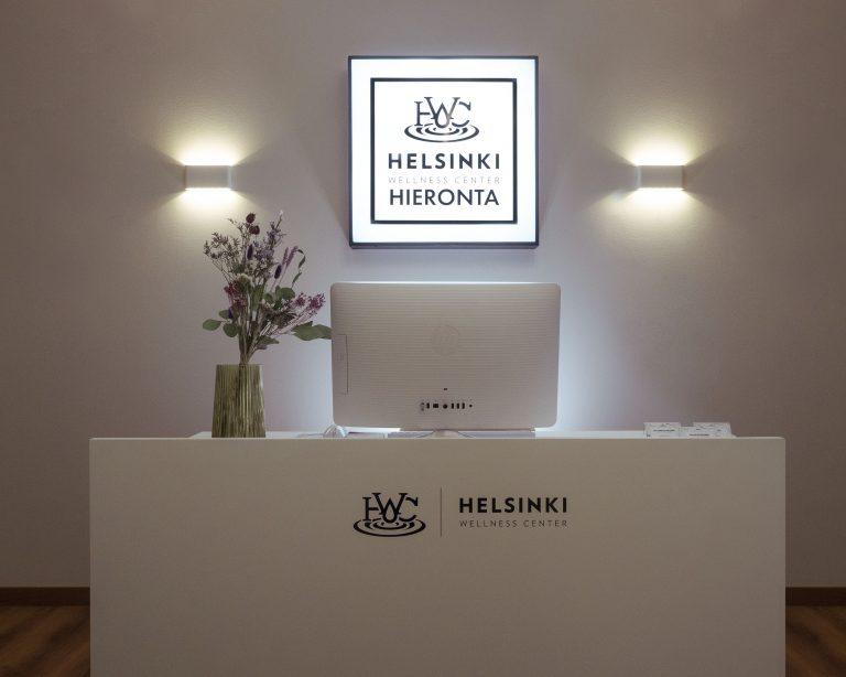 Hieronta Tammisto - Helsinki Wellness Center vastaanotto - Hieronta Vantaa